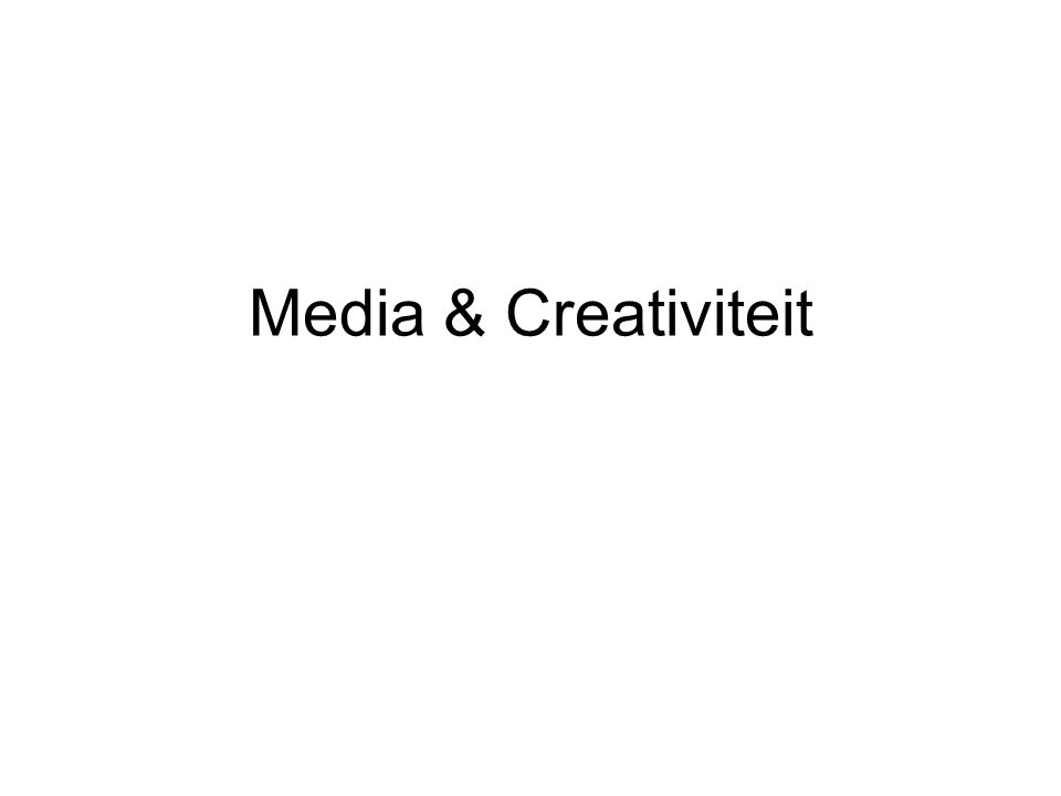 Agenda Creativiteit: nog eens nu in mindmap Motto (Bruce Mau) dummy http://www.brucemaudesign.com/manifesto.html Wat komt er in de procesmap Divergeren, convergeren wybertjesmodel Introductie beeldtaal Huiswerk
