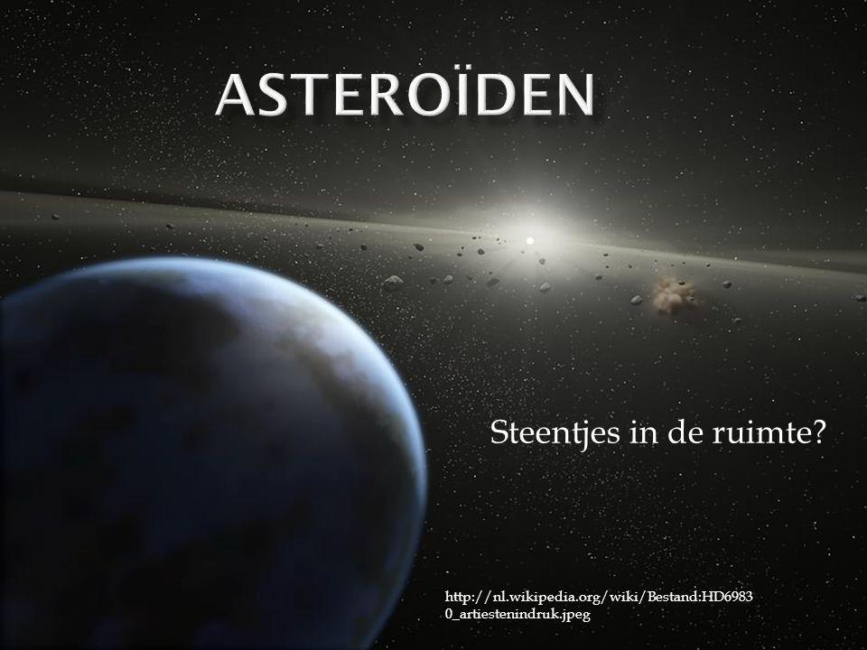 Steentjes in de ruimte http://nl.wikipedia.org/wiki/Bestand:HD6983 0_artiestenindruk.jpeg