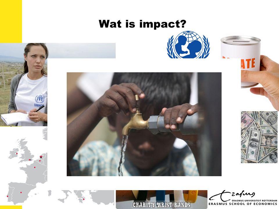 Wat is impact