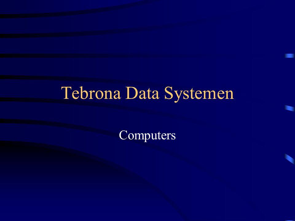Tebrona Data Systemen Computers