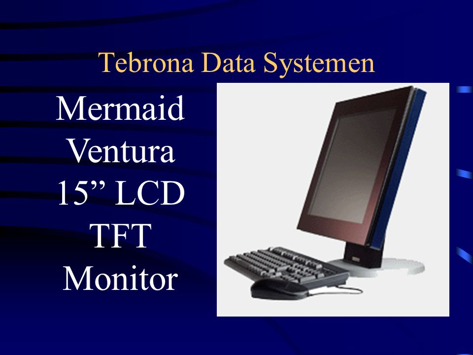 Tebrona Data Systemen Mermaid Ventura 15 LCD TFT Monitor