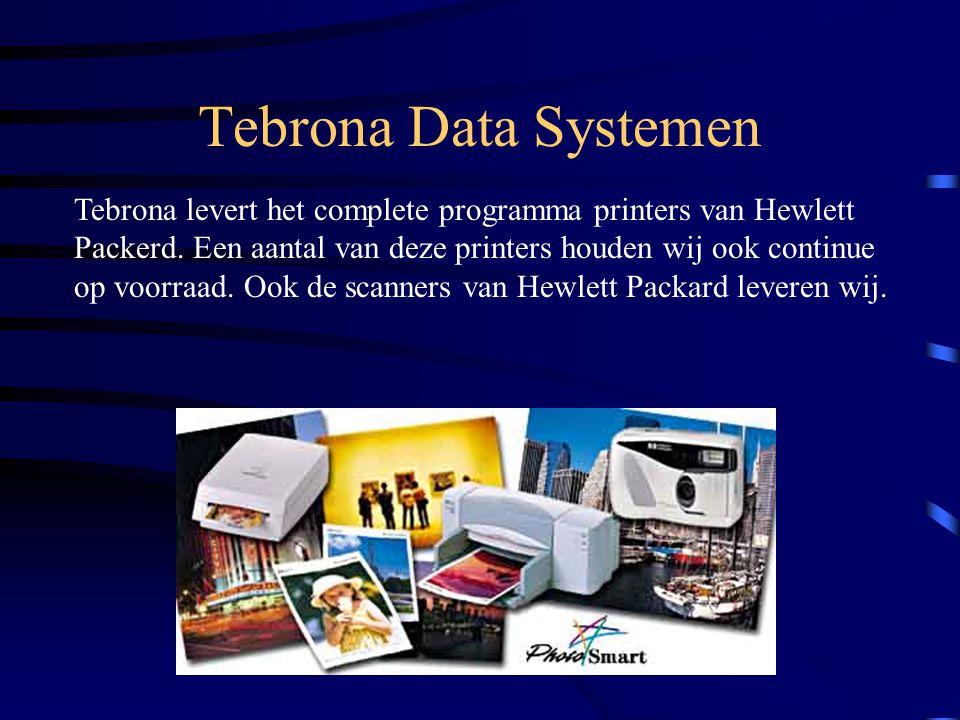 Tebrona Data Systemen Beijerlandselaan 169 3074 EH Rotterdam Telefoon: 010 484.53.55 Telefax: 010 484.96.71 Internet: www.tebrona.nl E-mail: Info@tebrona.nl