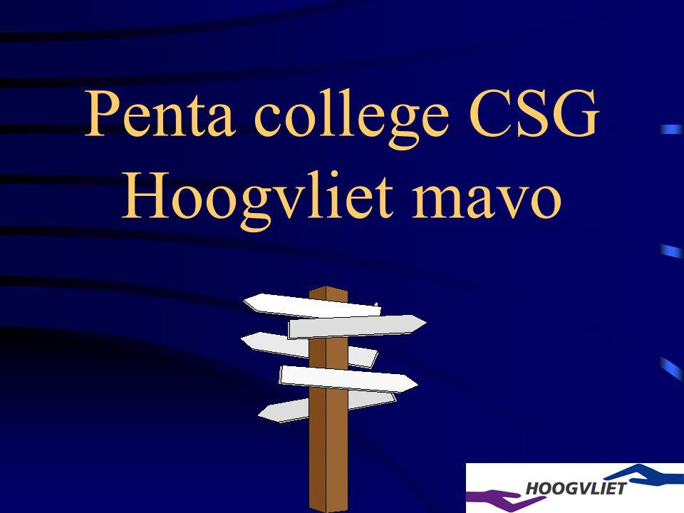 Penta college CSG Hoogvliet mavo Klas 4