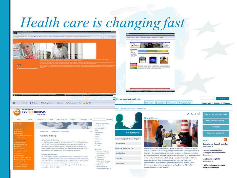 Samenvatting/conclusie  Patiënten en zorgverleners zijn positief over het E-portaal.