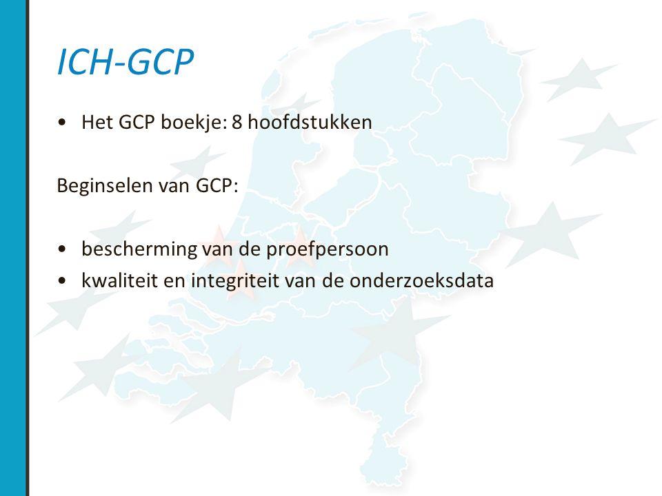 ICH GCP: De onderzoeker is verplicht bij de rapportage / bewaren van gegevens: De gegevens in de case record form (CRF s) en in alle vereiste rapporten nauwkeurig, volledig, leesbaar en tijdig aan de sponsor rapporteren Elke handmatige of electronische verandering of correctie in een CRF van de datum voorzien, paraferen en (indien nodig) verklaren zonder de oorspronkelijke tekst onleesbaar te maken, en de vastlegging van de veranderingen en correcties bewaren De gegevens die in het CRF vastliggen in overeenstemming met de brondocumenten en discrepanties verklaren