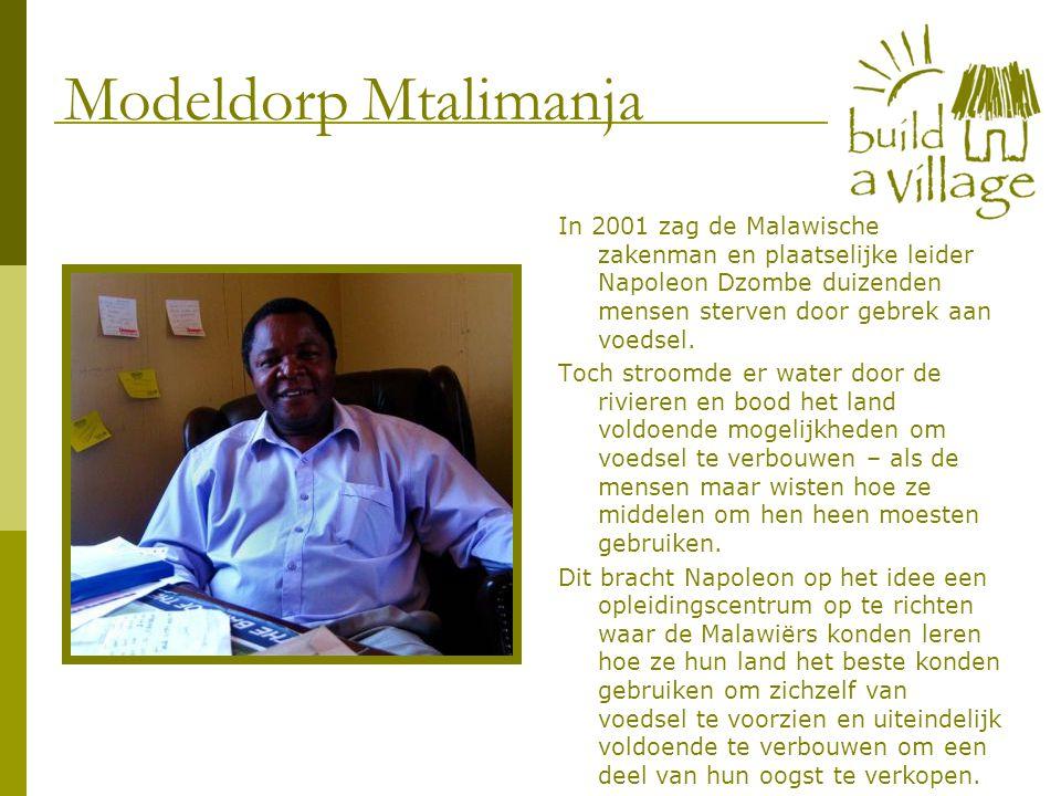 In 2001 zag de Malawische zakenman en plaatselijke leider Napoleon Dzombe duizenden mensen sterven door gebrek aan voedsel. Toch stroomde er water doo