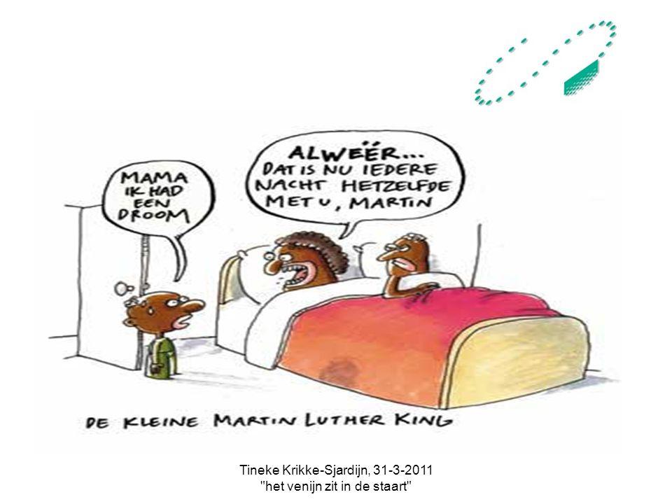 Tineke Krikke-Sjardijn, 31-3-2011 het venijn zit in de staart +/- 250.000 CVA- cliënten in chronische fase: We moeten samen optrekken!