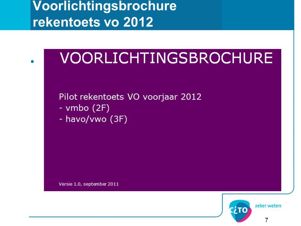 7 Voorlichtingsbrochure rekentoets vo 2012