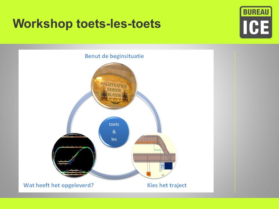 Workshop toets-les-toets