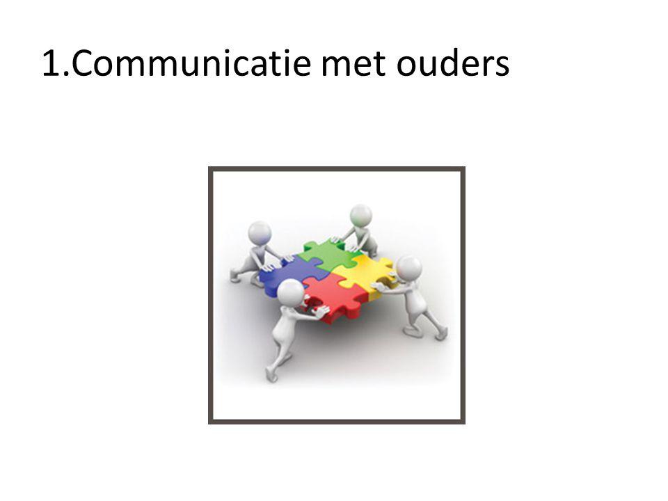 1.Communicatie met ouders