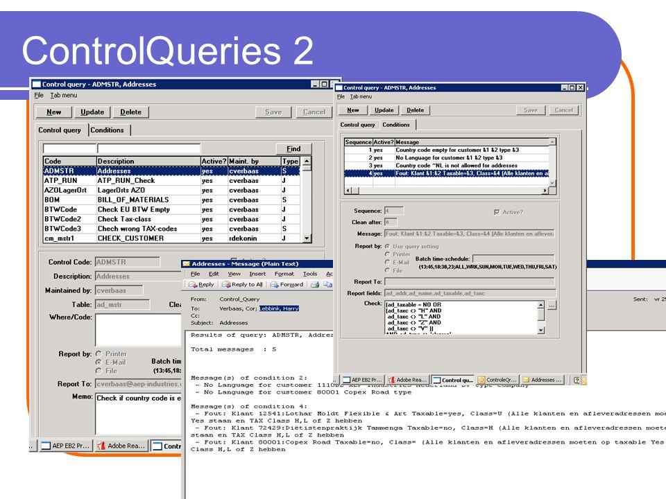 ControlQueries 2