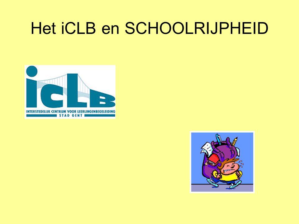 Coöperatieve deelgroepen 1) De schoolrijpheidscirkel.