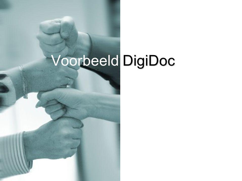 DigiDoc Voorbeeld DigiDoc