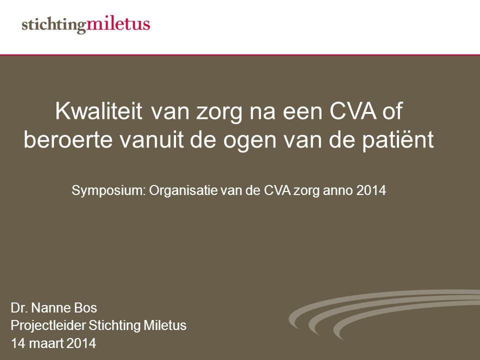 Kwaliteit van zorg bespreekbaar Onderzoeksdesign Feb.