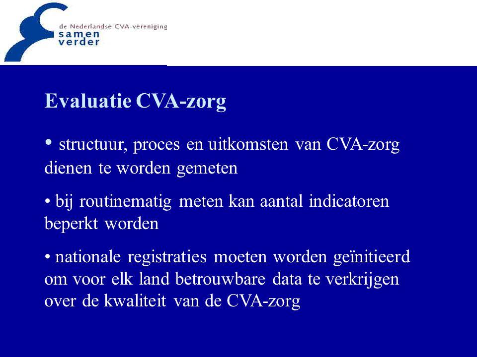 … wil NL de doelstellingen Helsingborg consensus 2015 bereiken … … dan is landelijke samenwerking een voorwaarde … … kortom, groen licht voor het Kennisnetwerk CVA NL !