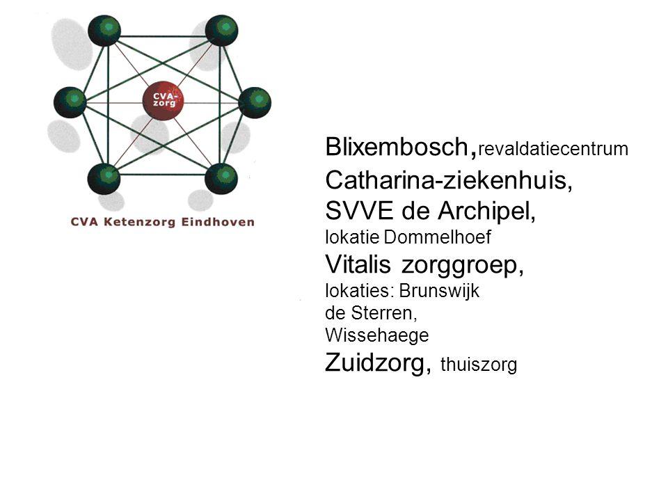 Blixembosch, revaldatiecentrum Catharina-ziekenhuis, SVVE de Archipel, lokatie Dommelhoef Vitalis zorggroep, lokaties: Brunswijk de Sterren, Wissehaeg