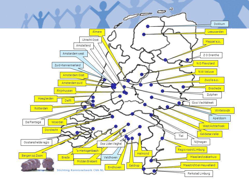 Parkstad Limburg Maastricht en Heuvelland Maasland ziekenhuis Geldrop Veldhoven Midden Brabant Breda De Plantage Oosterschelde regio Dordrecht Nijmege