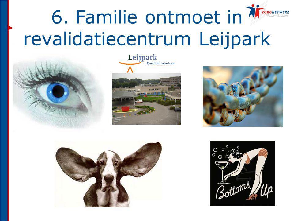 6. Familie ontmoet in revalidatiecentrum Leijpark