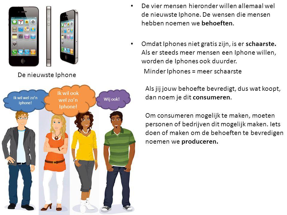 Ik wil wel zo'n Iphone! Ik wil ook wel zo'n Iphone! Wij ook! De nieuwste Iphone De vier mensen hieronder willen allemaal wel de nieuwste Iphone. De we