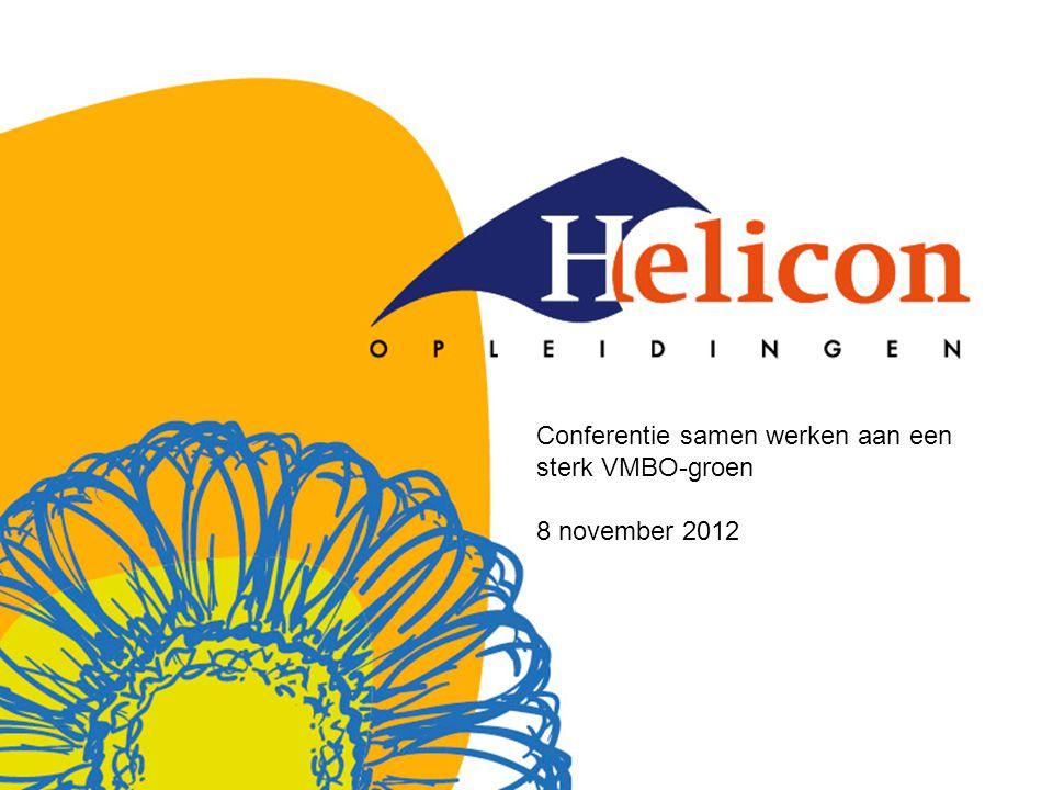 Conferentie samen werken aan een sterk VMBO-groen 8 november 2012