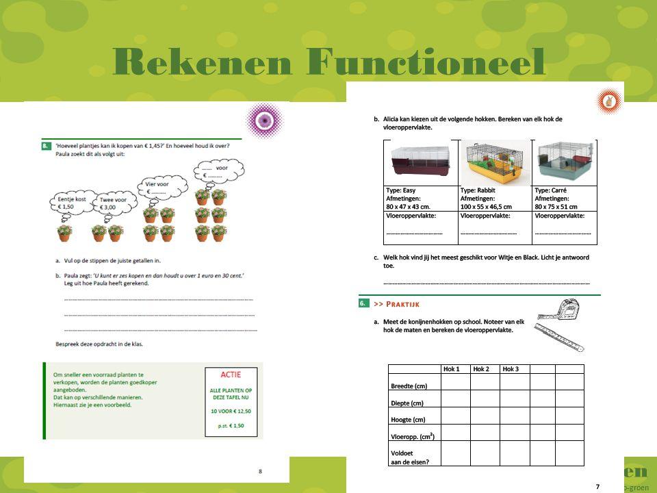 RekenGroen Rekenen voor vmbo-groen en mbo-groen Rekenen Functioneel