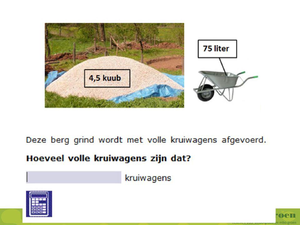 RekenGroen Rekenen voor vmbo-groen en mbo-groen Afsluiting Wat heb je nodig en wat heb je al.