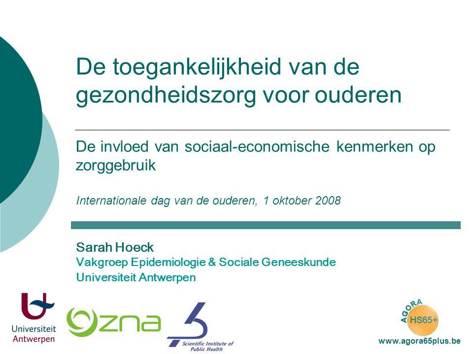 Structuur  data  kenmerken onderzoekspopulatie  sociaal-economische status & zorggebruik  Heeft SES impact op zorggebruik.