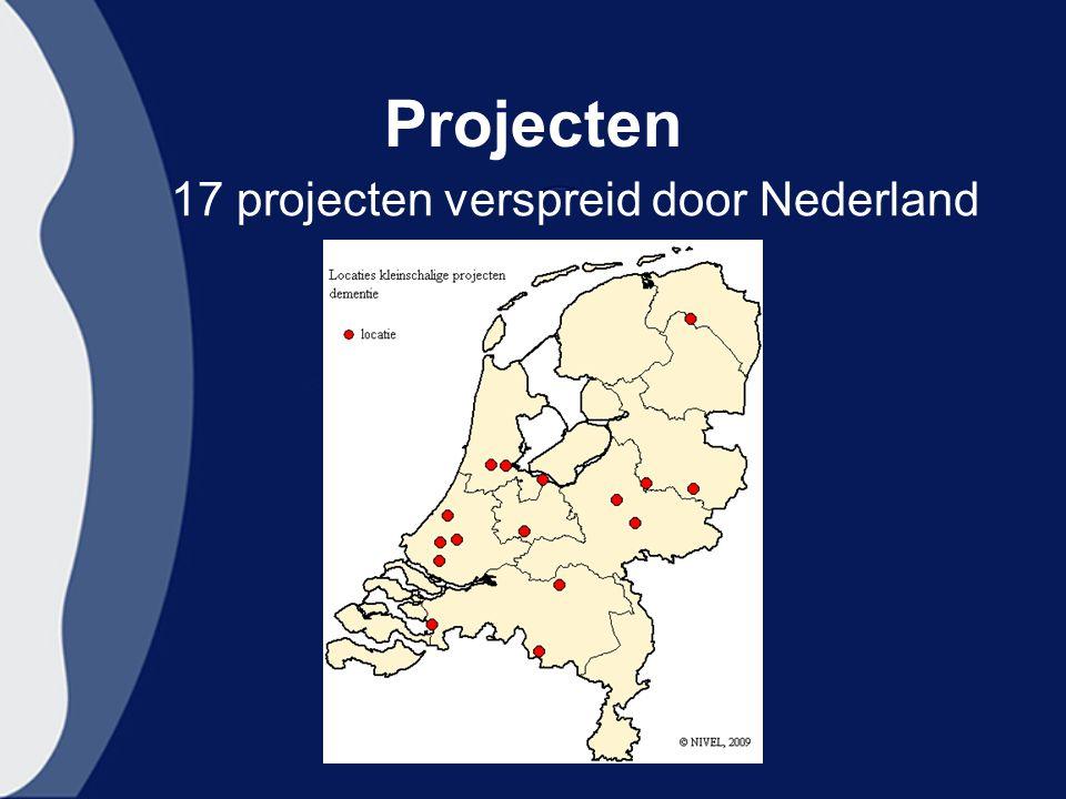 Projecten 17 projecten verspreid door Nederland
