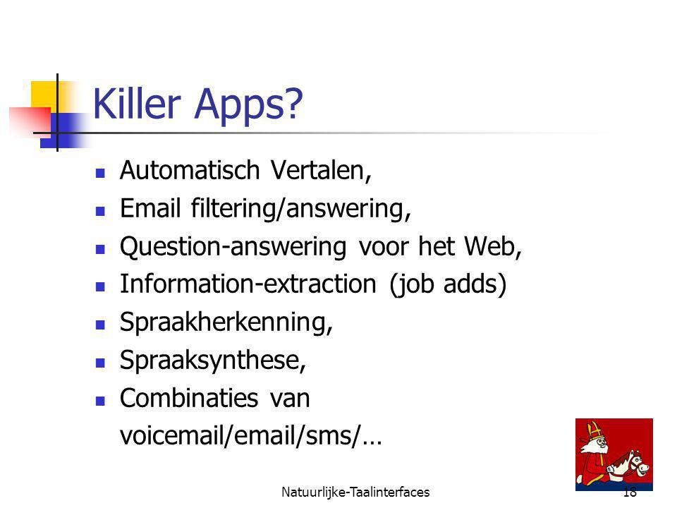 Natuurlijke-Taalinterfaces18 Killer Apps.