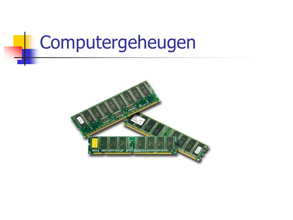Computergeheugen