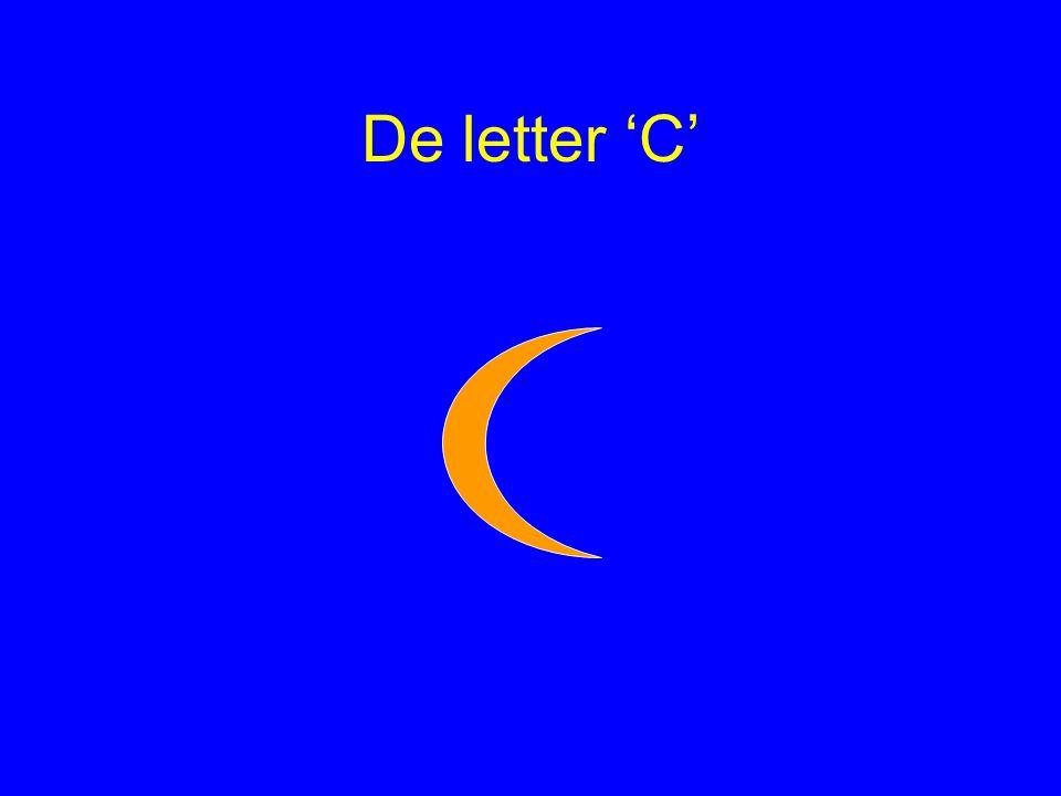 De letter 'C'