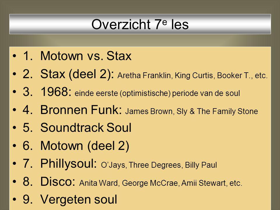 Coasters - Yakety Yak (beroemde sax-riff) Soul serenade Ode to Billie Joe I was made to love her (Stax interpretatie van Motown song) Groove me musical director voor Aretha Franklin vrijdag 13 augustus 1971: voor zijn huisdeur in zijn hart gestoken.