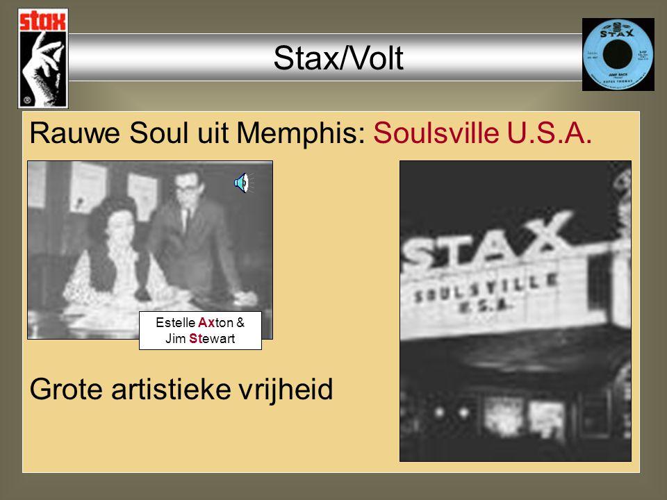 Rauwe Soul uit Memphis: Soulsville U.S.A.