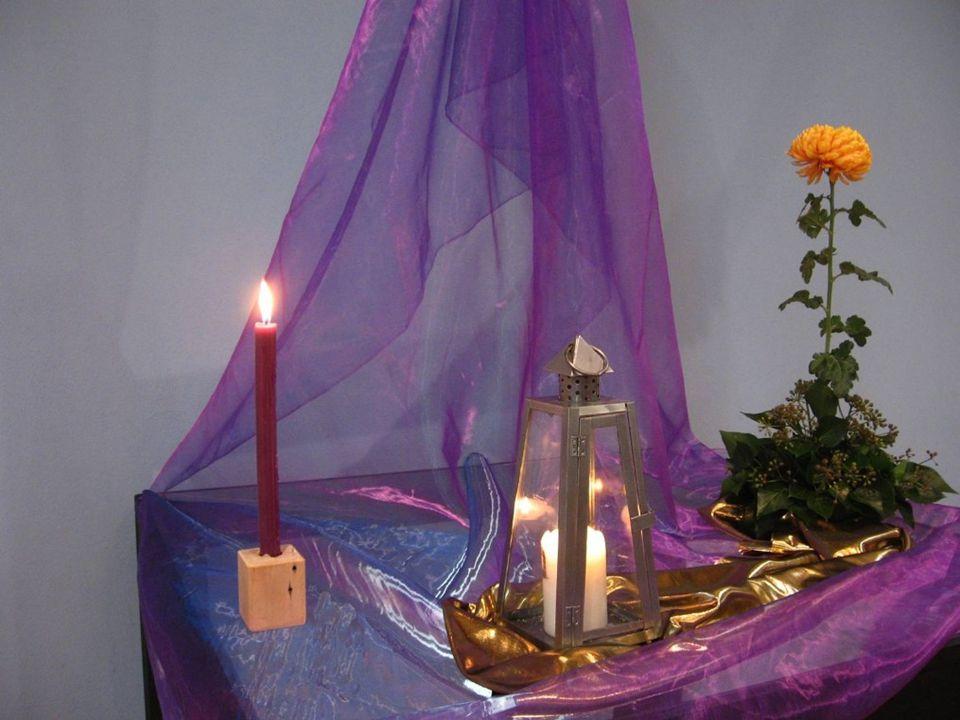 De lantaarn wil zeggen dat God is begonnen met het werk van Zijn licht dat overal zal stralen.