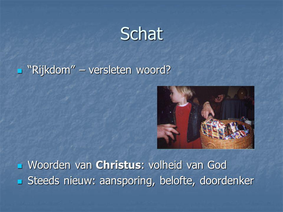 Wonen Geen gast op visite, maar hoofdbewoner Geen gast op visite, maar hoofdbewoner Zo bezig met Christus' woorden.