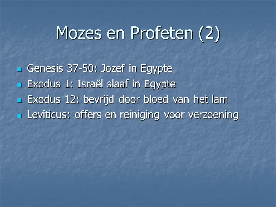 Mozes en Profeten (3) Jesaja 53 Jesaja 53 Maar hij was het die onze ziekten droeg, die ons lijden op zich nam.