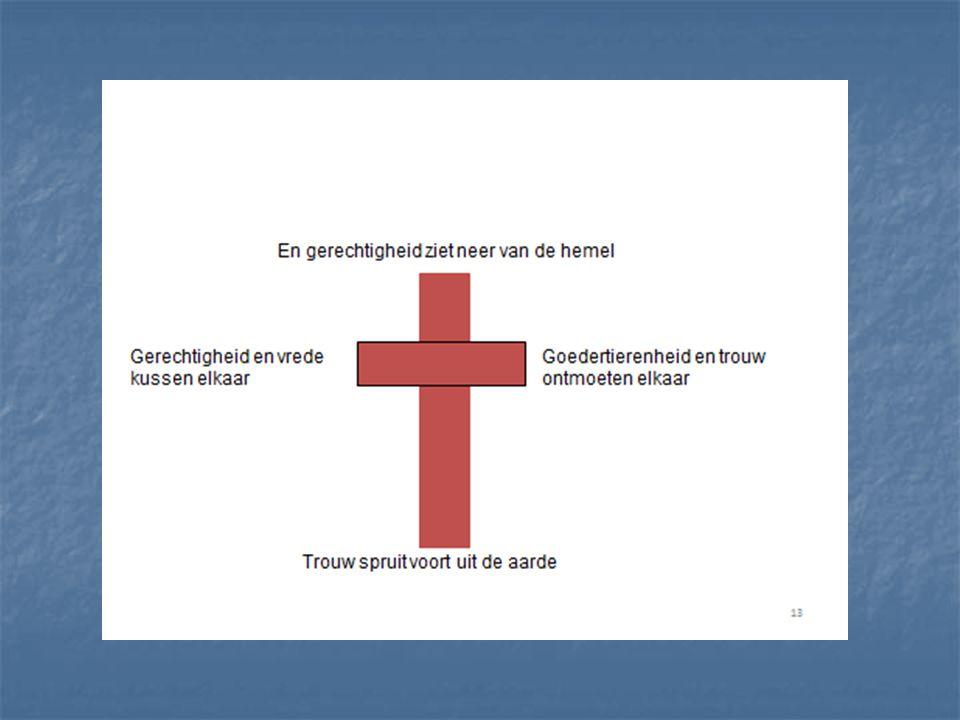 Uithangbord Kruis: een somber, streng verhaal.Kruis: een somber, streng verhaal.