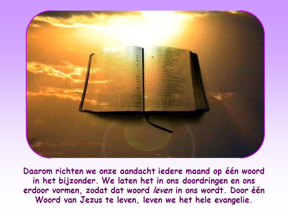 """Maar we zijn vooral geroepen om het in leven om te zetten. Zoals de Schrift zegt: """"Vergis u niet: alleen horen is niet genoeg, u moet wat u gehoord he"""