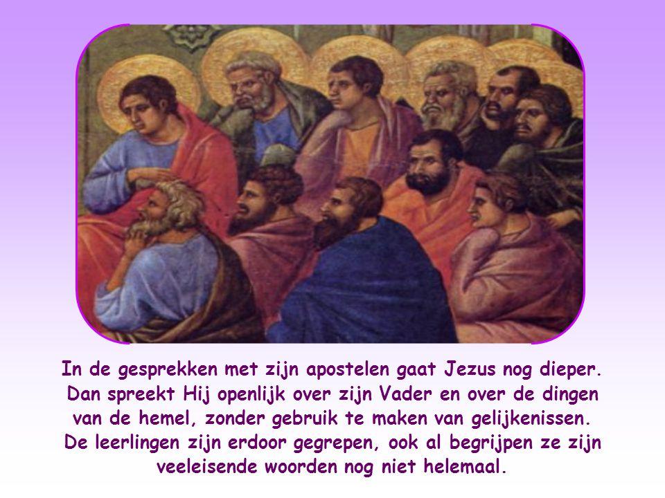 Toen de tempelwachters de opdracht kregen Hem te arresteren, voerden ze hun opdracht dan ook niet uit. Op de vraag van de hogepriesters en farizeeën w