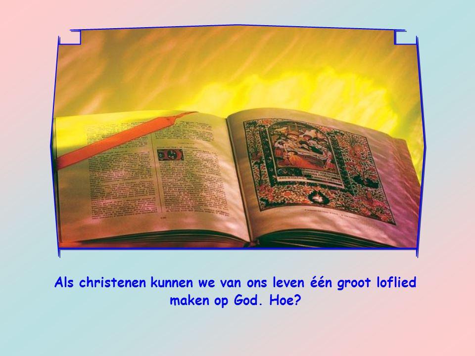 Een christen gaat dankzij de hulp van de heilige Geest op een andere manier om met de taken waar hij voor staat en met de moeilijkheden waar hij mee te maken heeft.