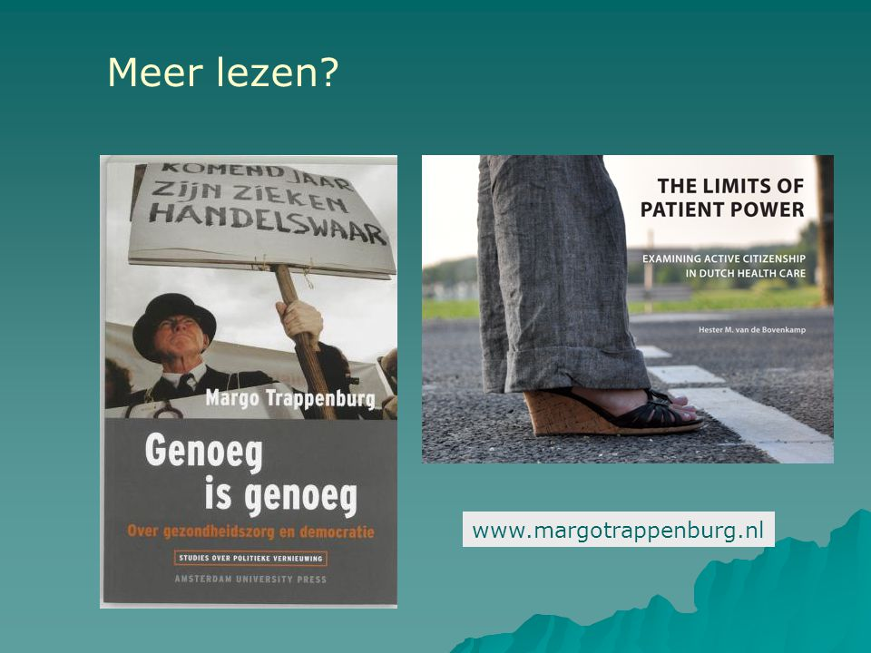 www.margotrappenburg.nl Meer lezen