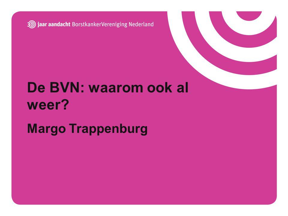 De BVN: waarom ook al weer Margo Trappenburg
