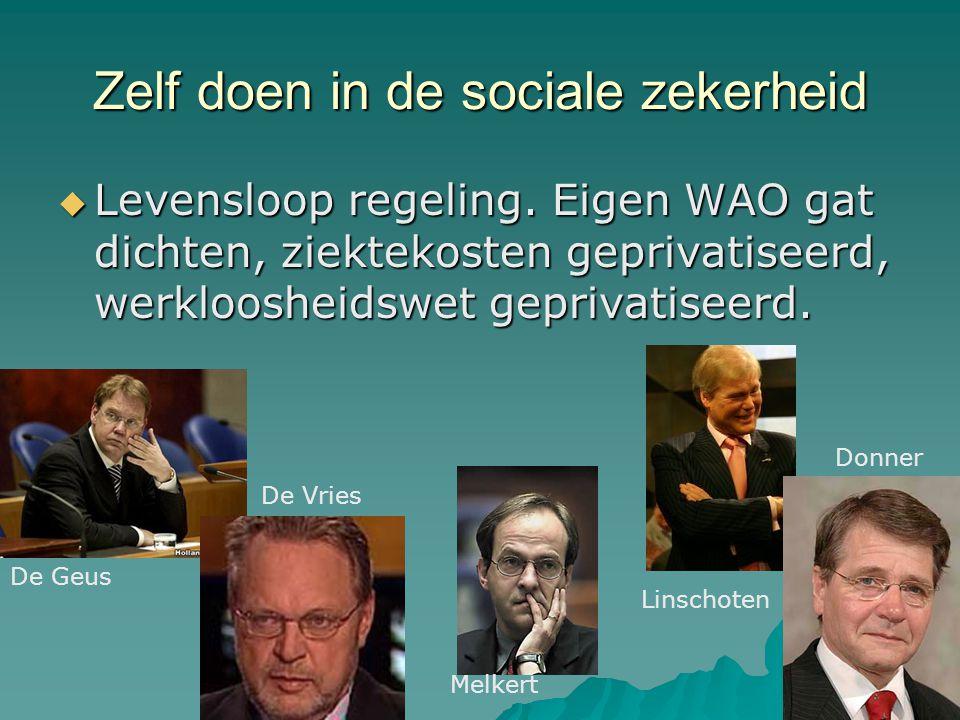 Democratie  Meepraten bij richtlijnontwikkeling, bij wetenschappelijk onderzoek, bij het opstellen van beleid ↓  Overvraagde patiënten- organisaties, overvraagde patiënten.