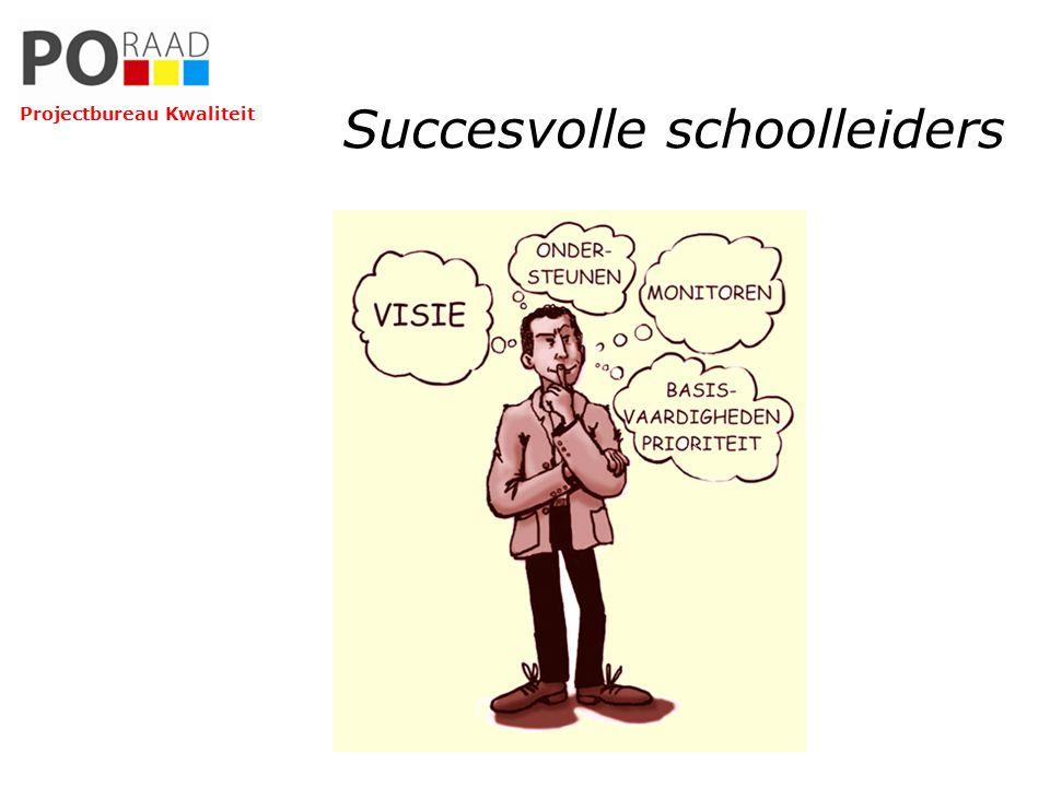 Succesvolle schoolleiders Projectbureau Kwaliteit