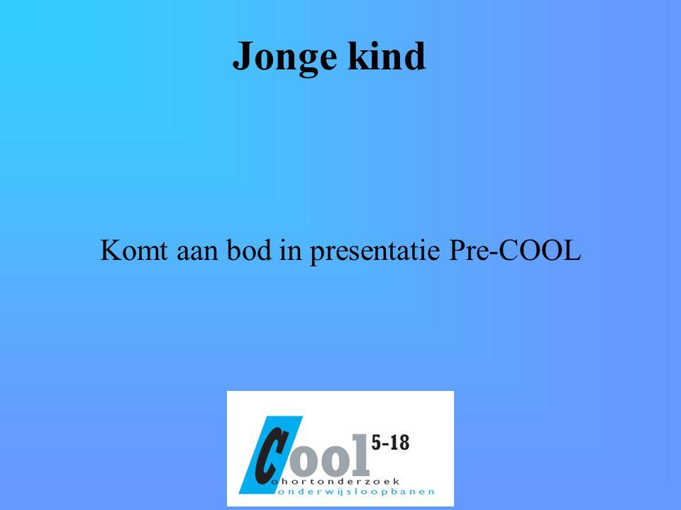 Jonge kind Komt aan bod in presentatie Pre-COOL