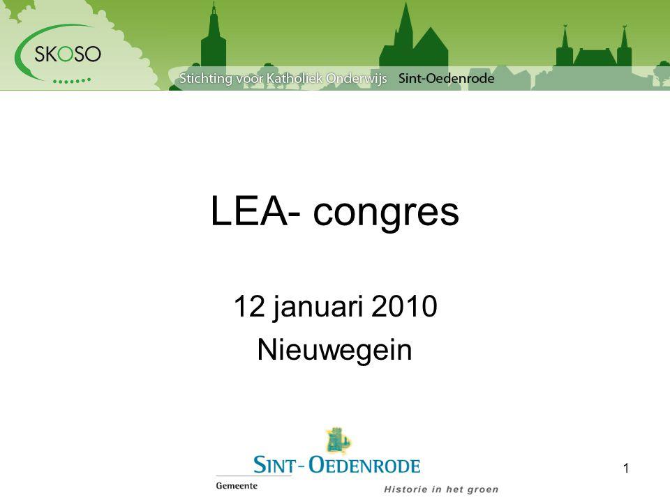 LEA- congres 12 januari 2010 Nieuwegein 1