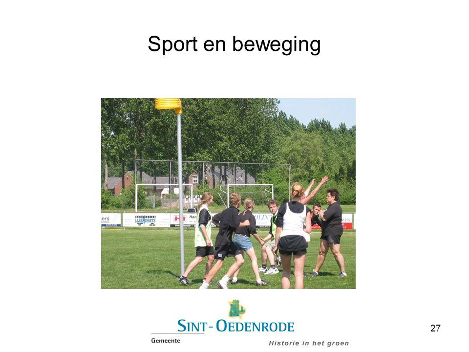 Sport en beweging 27
