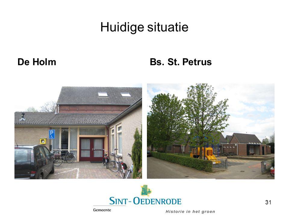 Huidige situatie De HolmBs. St. Petrus 31