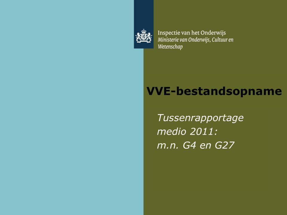 VVE-bestandsopname Tussenrapportage medio 2011: m.n. G4 en G27