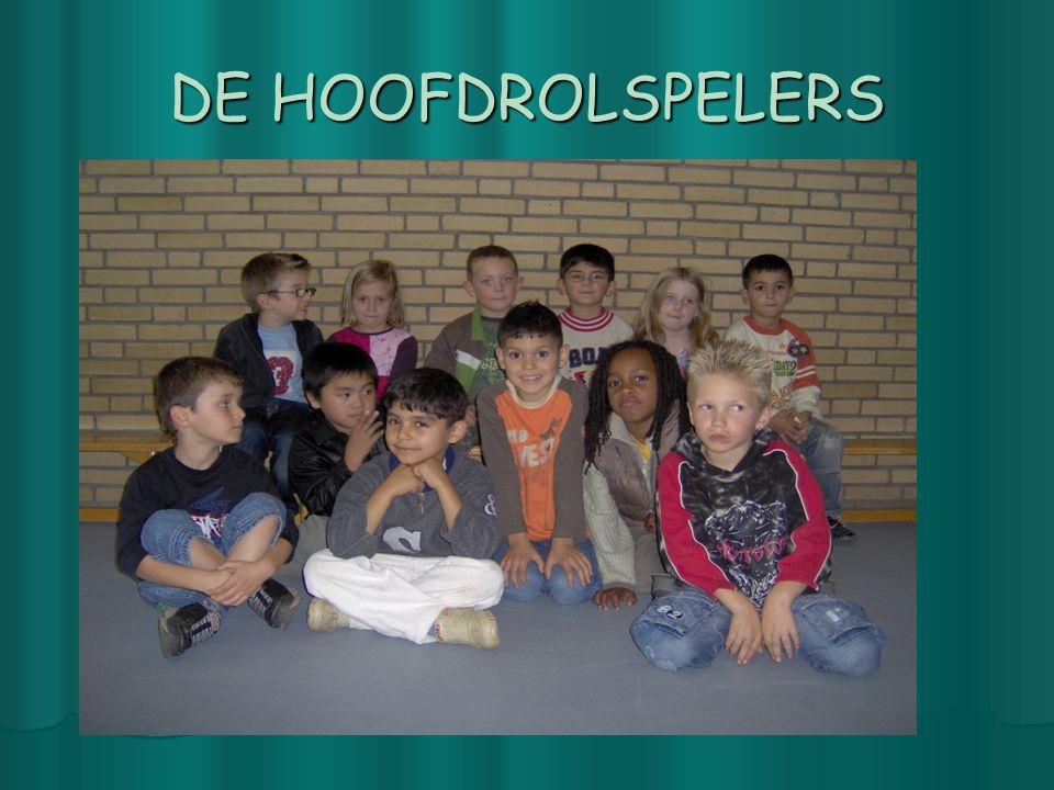 DE HOOFDROLSPELERS